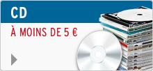 CD à moins de 5€